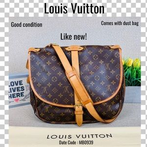 Louis Vuitton Crossbody Bag saumur 35 shoulder bag